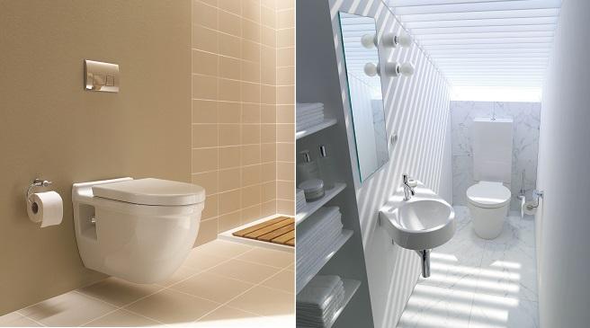 Inodoro Para Baño Pequeno:Diseños para cuartos de baño pequeños