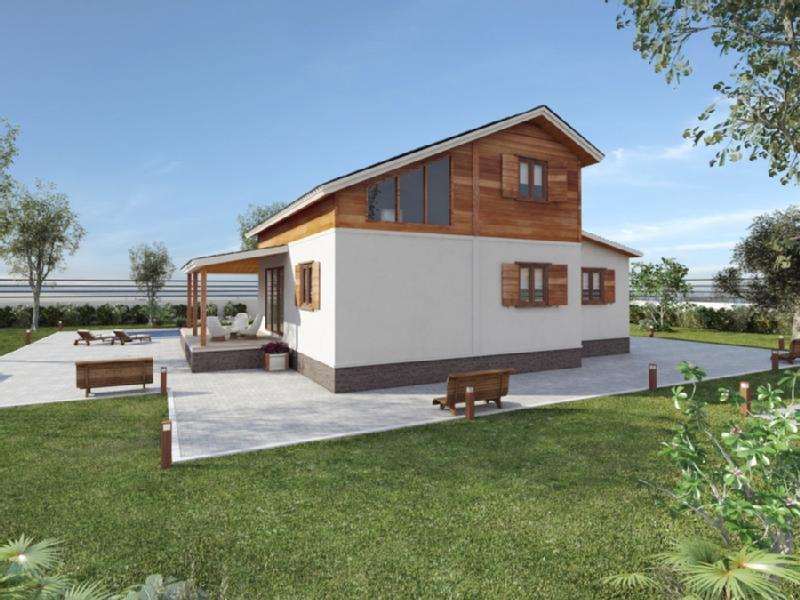 Casas prefabricadas madera diciembre 2014 - Casas de madera blancas ...