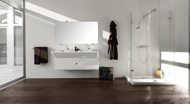 Baños Decorados Minimalistas:Cuartos de baño de estilo minimalista