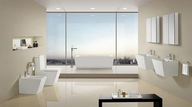 Cuartos de ba o de estilo minimalista - Cuartos de bano grandes ...