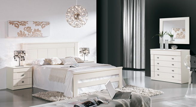 Por qu decorar tu dormitorio en blanco - Decoracion de dormitorios en blanco ...