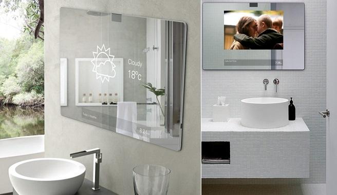 Espejos inteligentes para el cuarto de ba o - Focos para espejos de bano ...