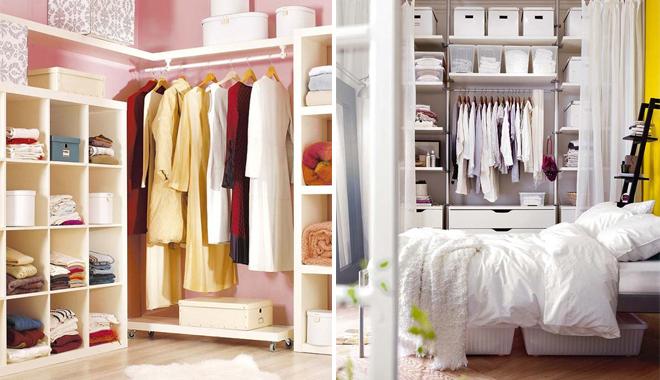 Un vestidor en tu habitaci n - Armarios para espacios pequenos ...