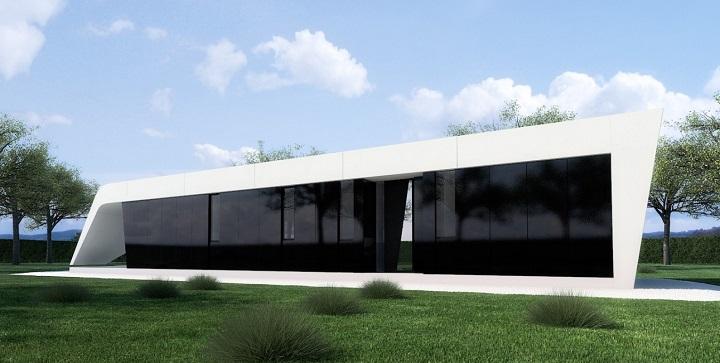 Casas prefabricadas de dise o for Viviendas modulares diseno