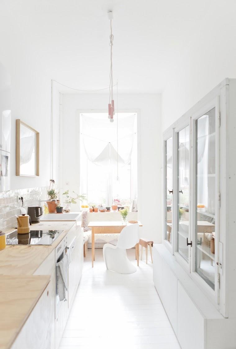 lampara colgante cocina