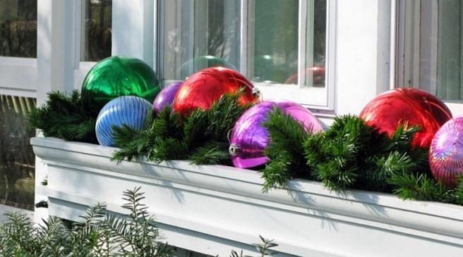 C mo decorar la terraza en navidad - Decoracion navidad exterior ...