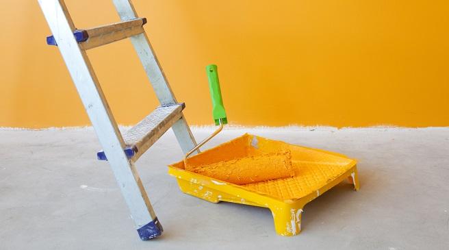 Consejos para pintar un piso peque o - Como pintar un piso pequeno ...