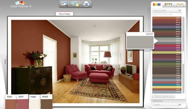 simulador de espacios interiores