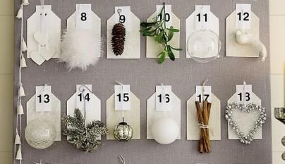Superfluo Imprescindible-Calendario Adviento etiquetas-decoracion navidad