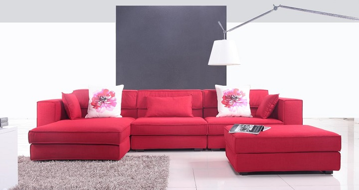 Tipos de sof s for Sofas modernos tapizados