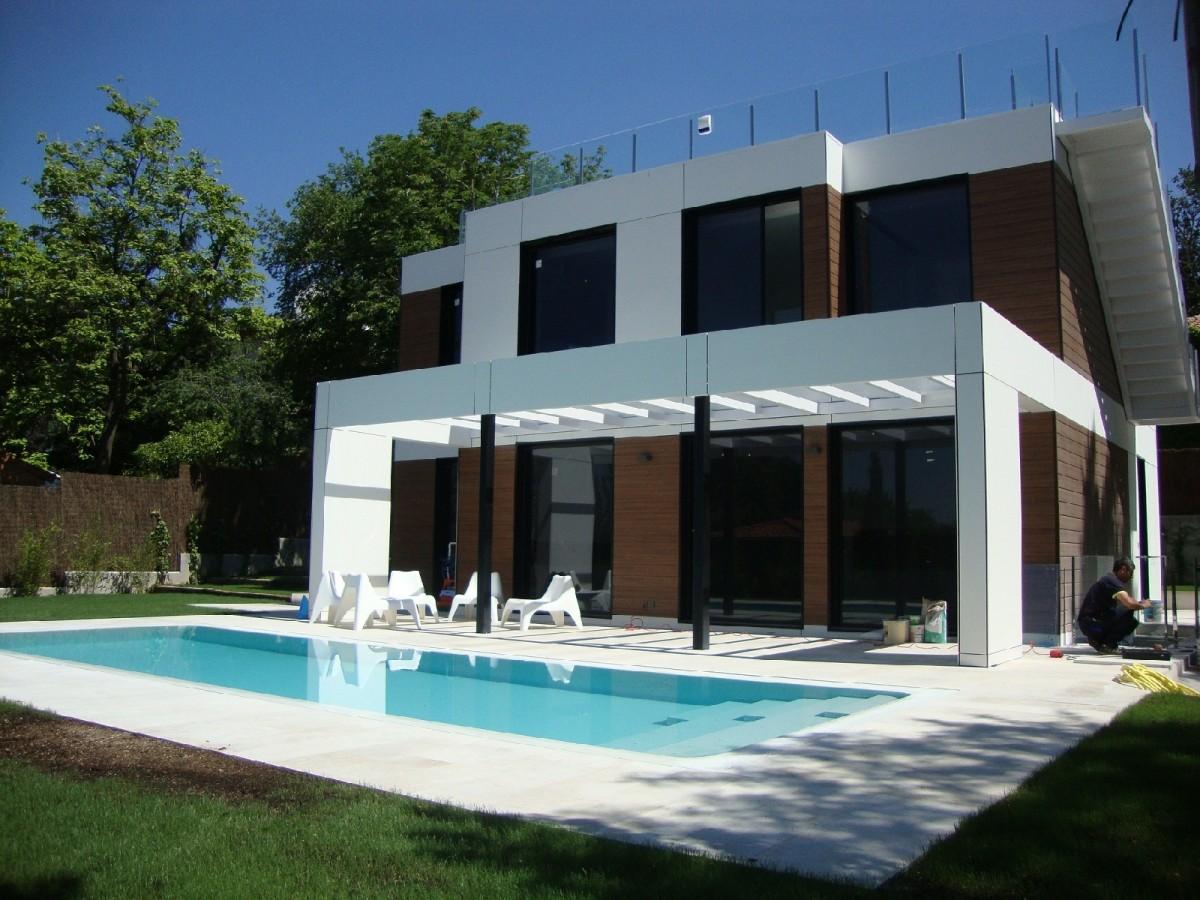 Cubic porche salon terraza01 6007 1850 900 90 c for Casas prefabricadas para jardin