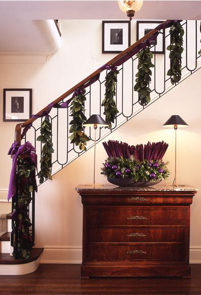 Ideas para decorar una escalera en navidad - Decoracion de escaleras ...