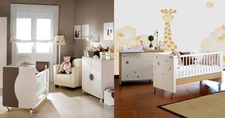 Colores para la habitación de un bebé