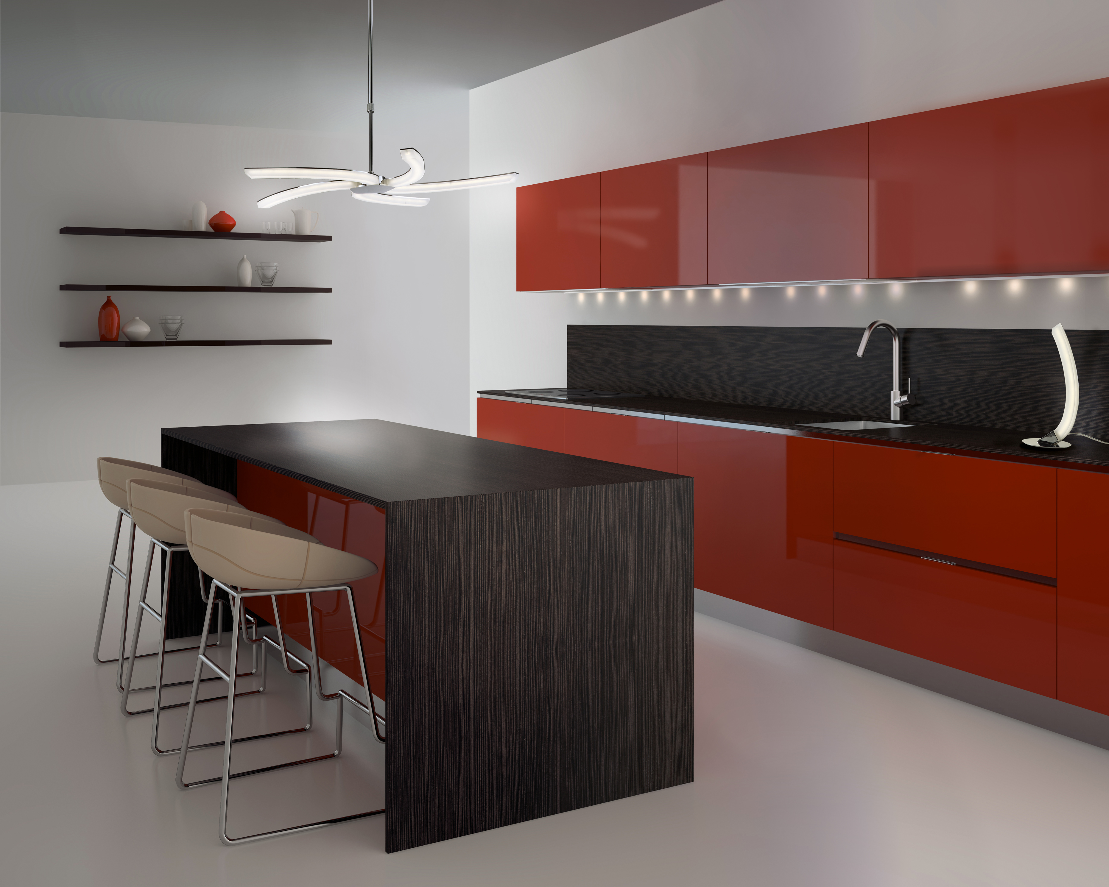 Lamparas led para cocinas 47375 cocinas ideas - Led para cocina ...