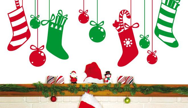 Vinilos infantiles para navidad for Decoracion navidena infantil