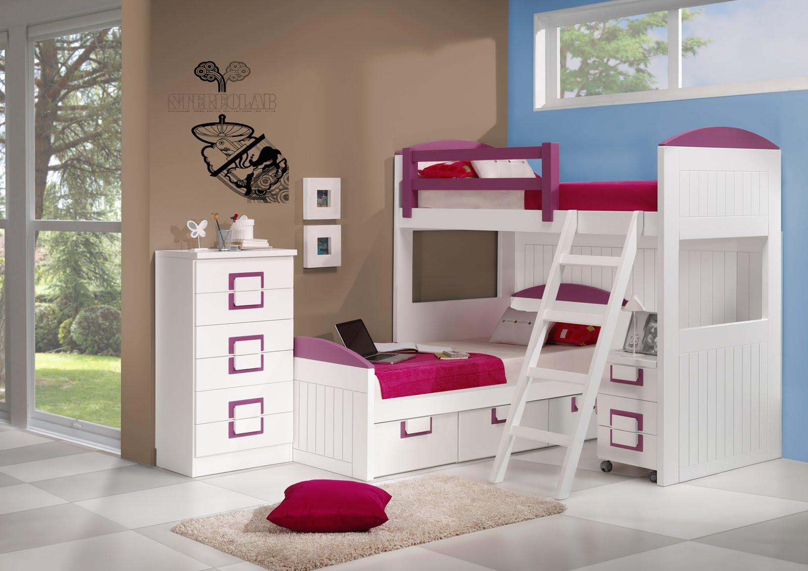 Literas para habitaciones infantiles - Decoracion infantil habitaciones ...