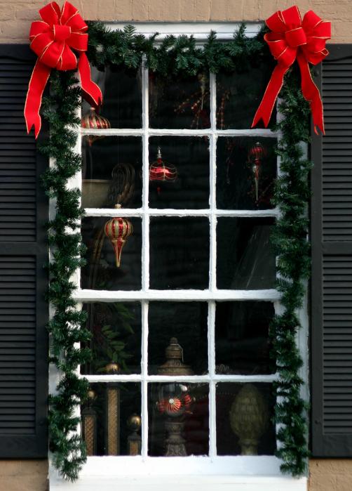 Decoracion Ventanas Navidad ~ te dejamos con unas im?genes de ventanas decoradas para la Navidad