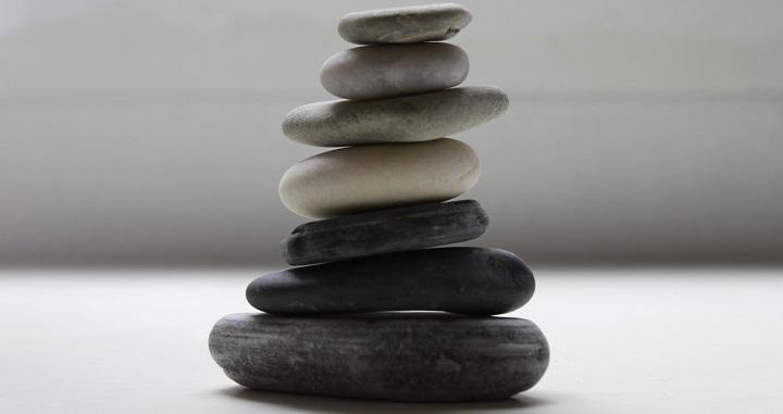 Ideas para decorar el ba o con piedras - Decorar piedras de rio ...