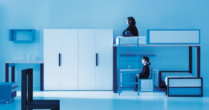 Los mejores colores para habitaciones infantiles y de - Dormitorios con literas para ninos ...