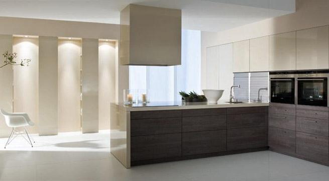 como decorar cocinas minimalistas2 - Cocinas Rectangulares