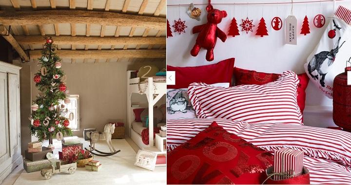 Decorar el dormitorio en navidad - Decoracion navidena escaleras ...