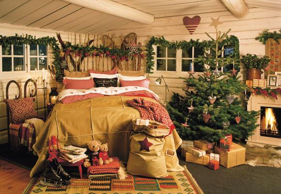 Decorar el dormitorio en navidad for Cosas de casa decoracion navidena