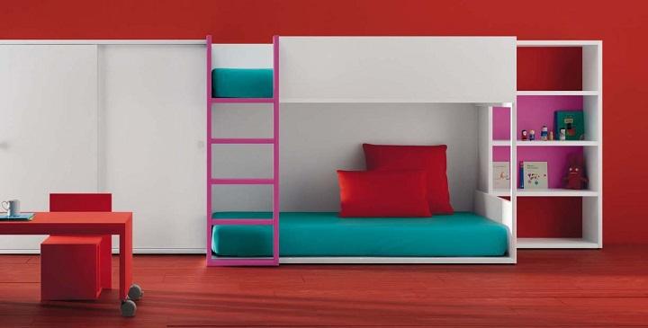 Literas para habitaciones infantiles - Literas infantiles originales ...