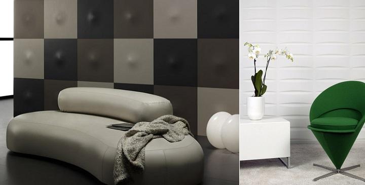 puedes optar por las pinturas d papeles pintados paneles decorativos azulejos en d u otras tcnicas para crear relieves originales en las paredes