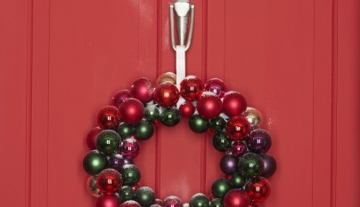 Decorablog revista de decoraci n for Puertas navidenas decoradas 2014