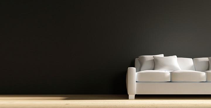 Ventajas de pintar las paredes de negro - Colores para pintar la pared ...