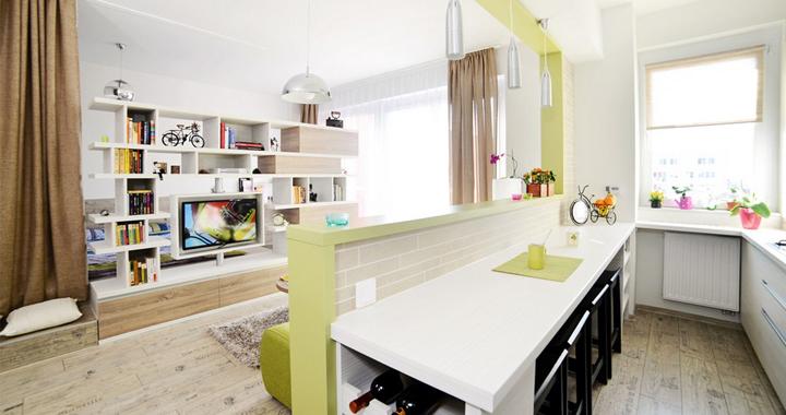 Un apartamento de 40 metros cuadrados for Loft de 40 metros cuadrados