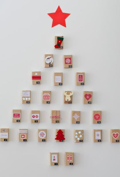 Arbol de navidad pared - Arbol de navidad de pared ...