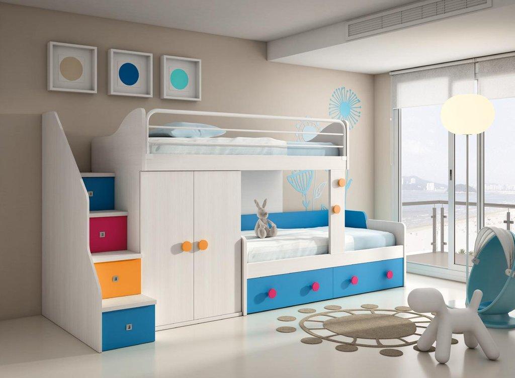 Literas para habitaciones infantiles - Literas madrid ...