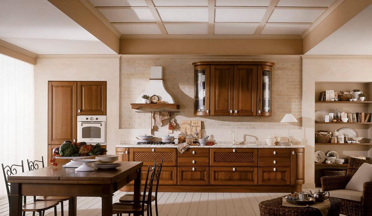 Fotos de cocinas decoradas for Cocinas integrales clasicas