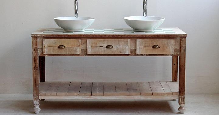Decoraci n con muebles reciclados for Fotos muebles reciclados