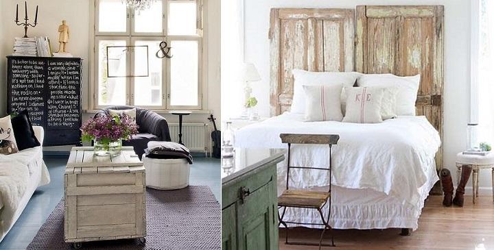 Decoraci n con muebles reciclados for Muebles con cosas recicladas