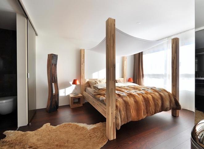 Dormitorios decorados con doseles - Doseles de cama ...