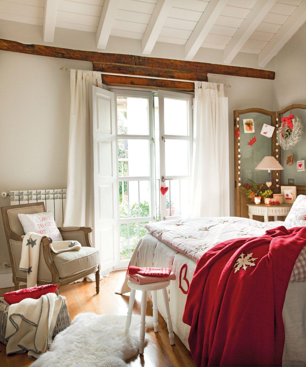 Decorar el dormitorio en navidad - Decorar con fotos el dormitorio ...