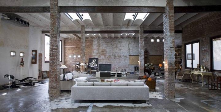 Fotos de lofts decorados for Imagenes de techos decorados