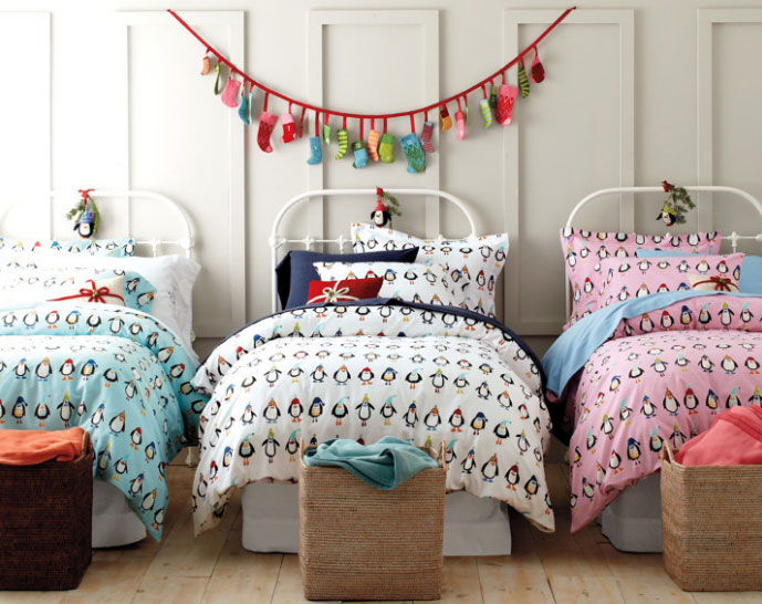Decorar el dormitorio en navidad for Decoracion navidena para ninos