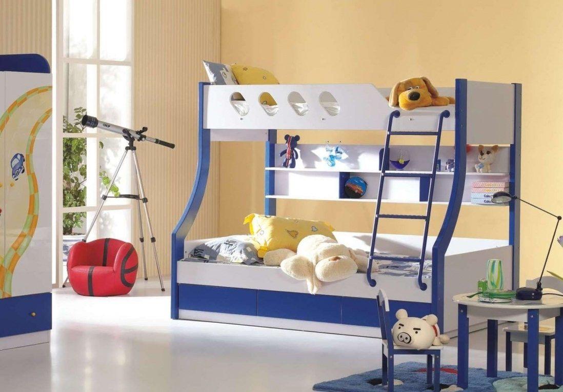 Litera de tonos azules - Habitaciones infantiles azules ...