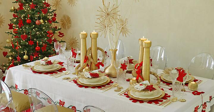 Decorablog revista de decoraci n - Adornar mesa de navidad ...