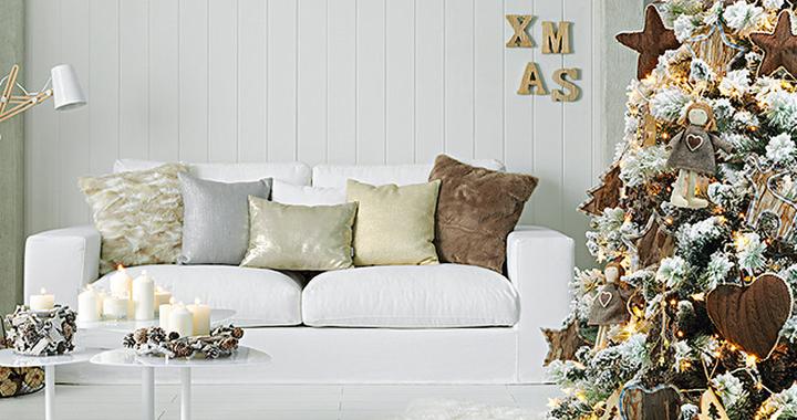 Decorablog revista de decoraci n - Como decorar un salon en navidad ...