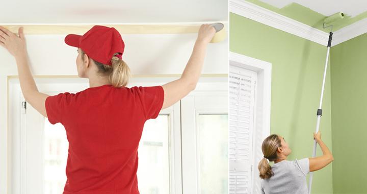 Decorablog revista de decoraci n - Como pintar el techo ...