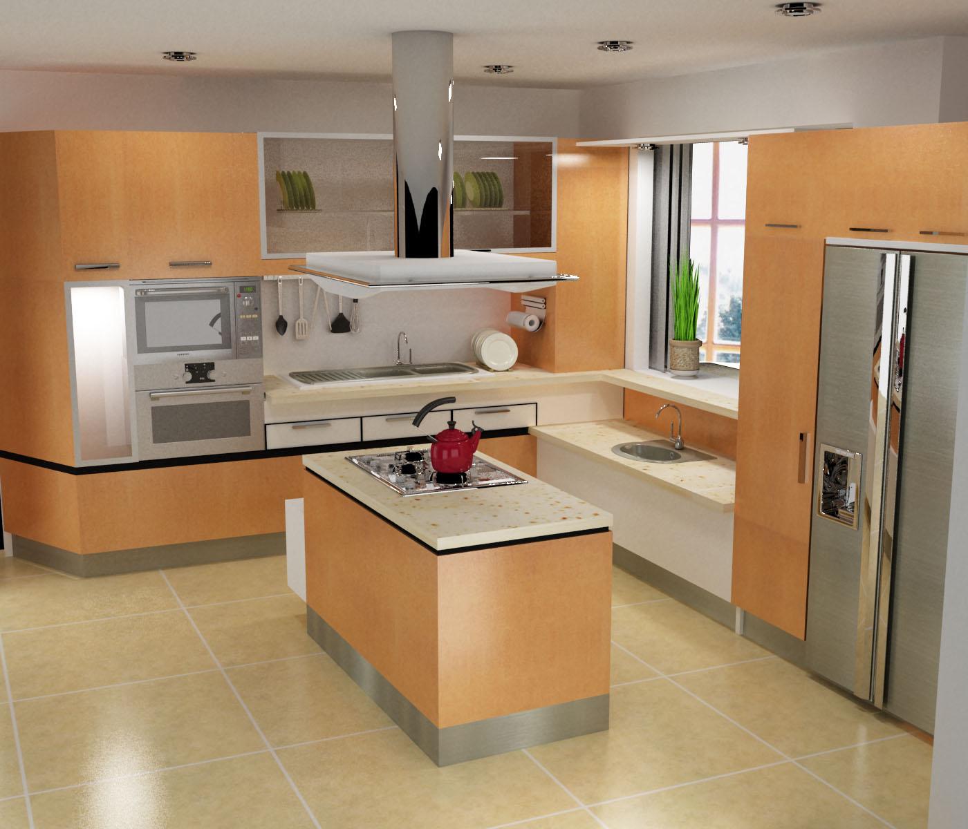 Fotos de cocinas decoradas - Vajillas de cocina ...