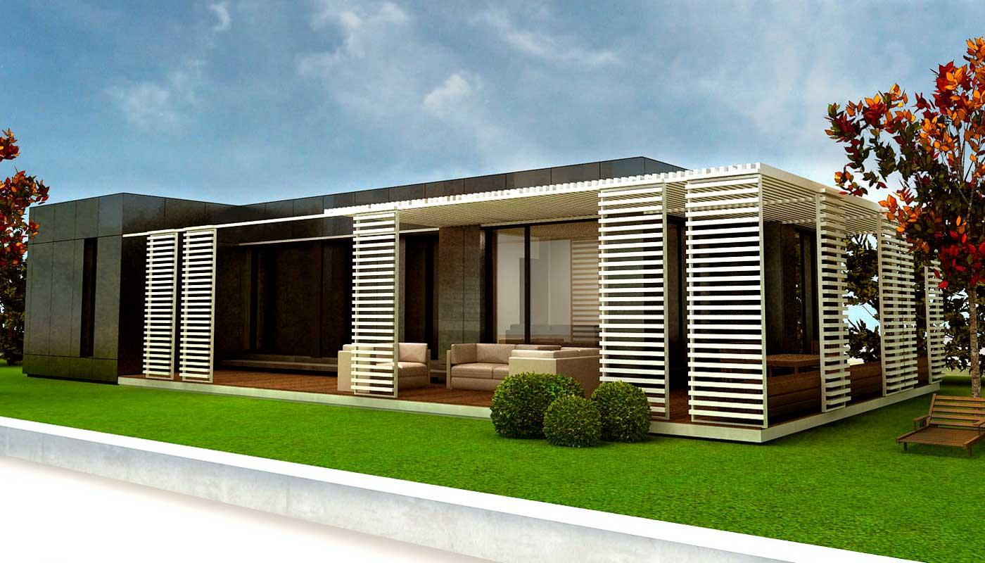 Casas modulares espaa casa minimalista de ladrillos - Opiniones donacasa ...