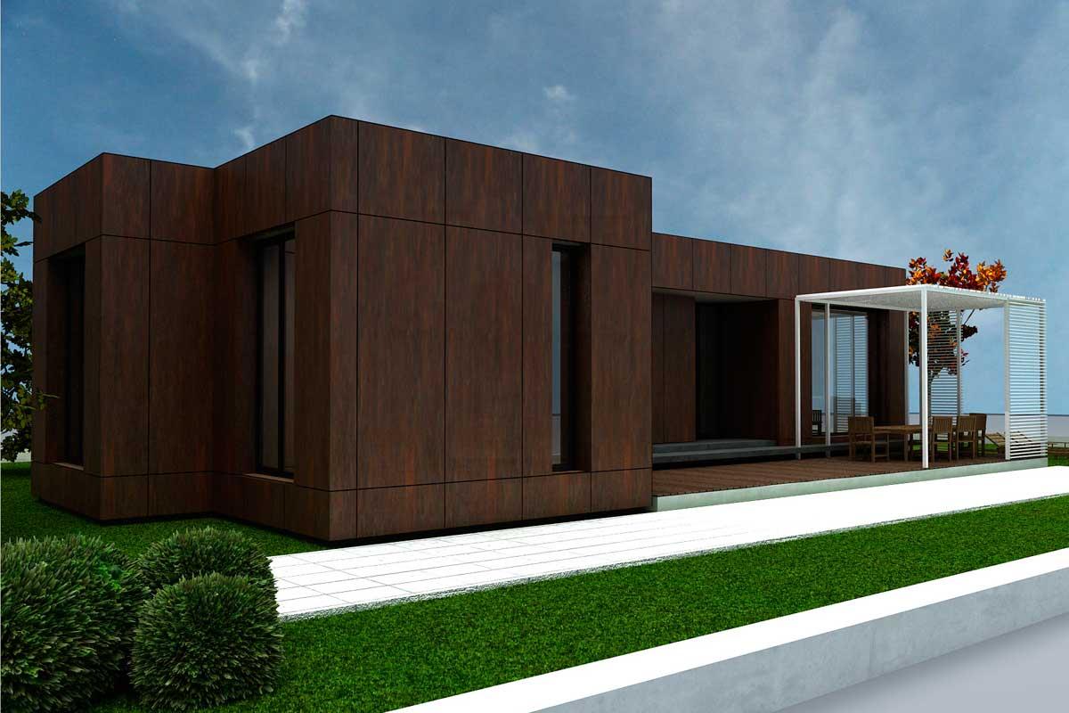 Casas prefabricadas madera casas prefabricadas de panel - Precio casas de madera prefabricadas ...