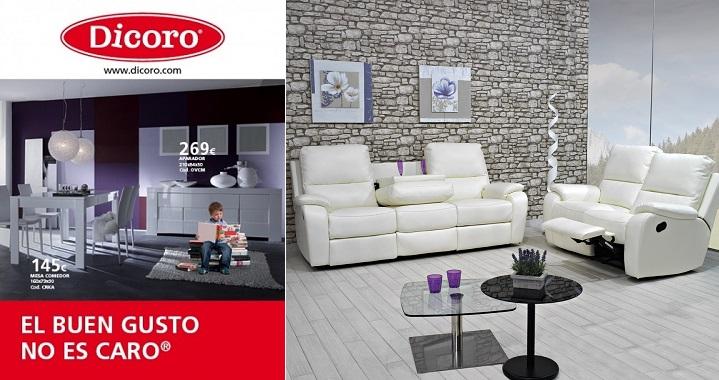 Cat logo dicoro 2014 for Dicoro muebles comedor