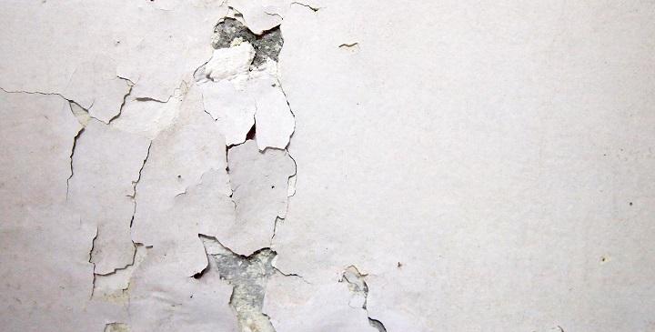 C mo pintar las paredes interiores for Grietas en paredes interiores
