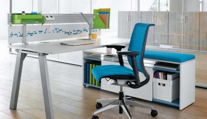 despacho-moderno-de-tonos-azules